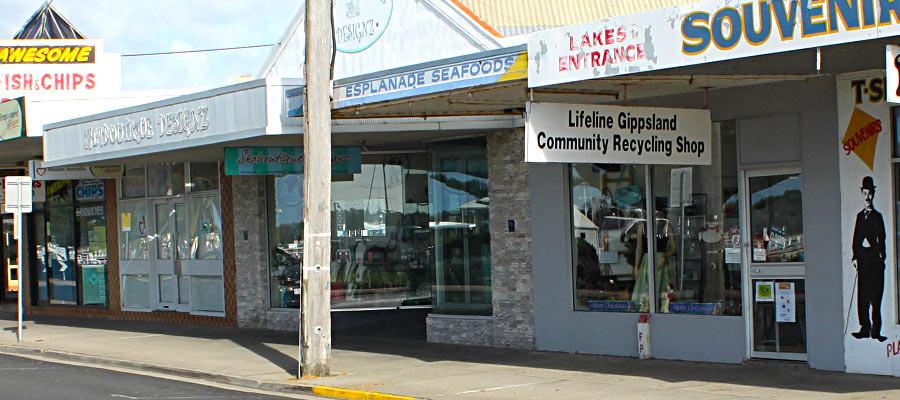 Lifeline Gippsland Op Shop: Lakes Entrance