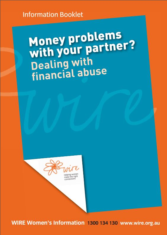 Financial Abuse - Information Booklet compiled by WIRE | Lifeline ...